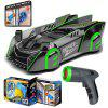 Infrared Follow Light Remote Control Wall Climbing Car for Children Stunt Climbing Remote Control Induction Car - GREEN