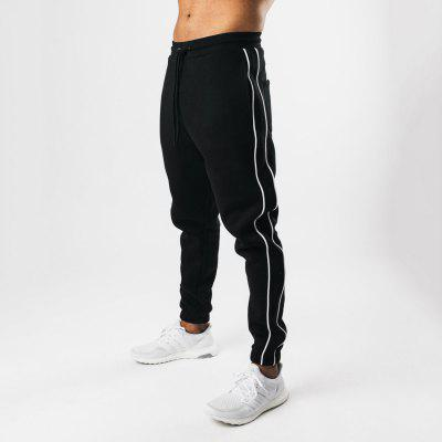 Casual Sports Pants Autumn Trend Fitness Trousers Loose Warm Elastic Running