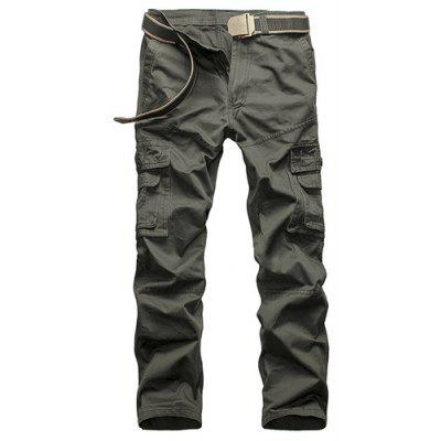Mens Causal Pants Multi-pocket Dress Large Size Cotton Outdoor Tooling Casual
