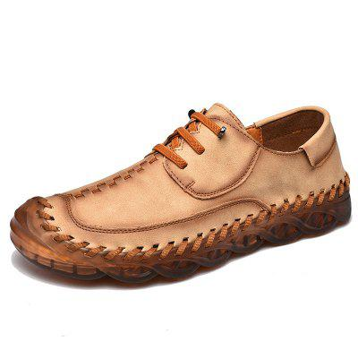 Spring Large Size Handmade Shoes Mens Breathable Trend Peas