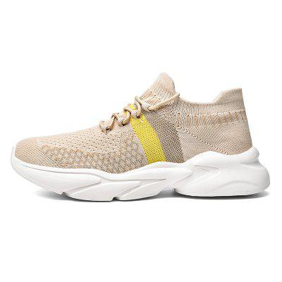 Couple Fly-knit Large Size Sports Casual Shoes