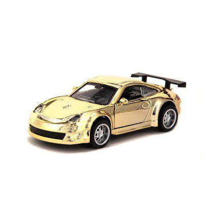Golden Alloy Car Model Childrens Toys Simulation Pull-off Off-road Cake Baking Decoration