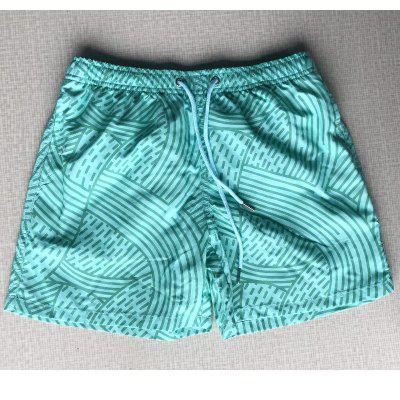 Men's Color Changing Beach Shorts Casual Shorts