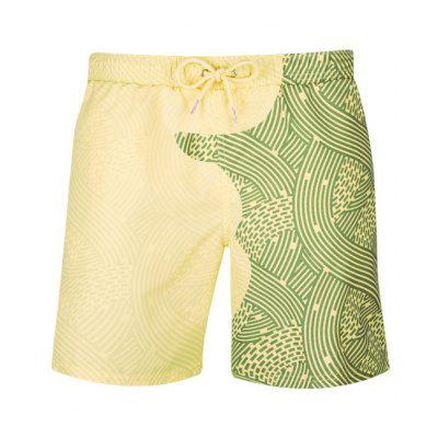 Mens Color Changing Beach Shorts Casual