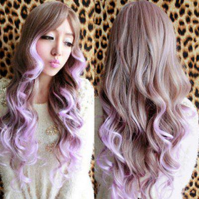 Charming Long Wavy Synthetic Harajuku Cosplay Wig For Women