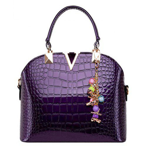 4e484f332464 Fashionable Embossing and Metal Design Tote Bag For Women -  26.05 ...