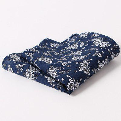 Stylish Tiny Floral Pattern Wedding or Party Business Suit Pocket Square For Men
