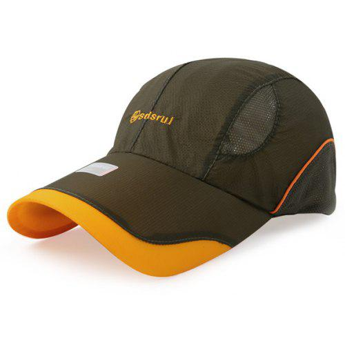 699a9d3c91d Men s Hats. Trendy Letter Embroidery Outdoor Breathable Quick Dry Sunscreen  Sport Cap