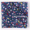 Stylish Tiny Floral Pattern Formal Banquet Party Business Suit Pocket Square For Men - BLUE