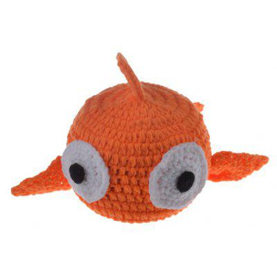Stylish Cute Fish Shape Crocheting Knitted Beanie For Kids