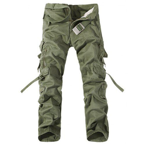 3a43b5d055c Plus Size Buckle Strap Cargo Pants -  38.81 Free Shipping
