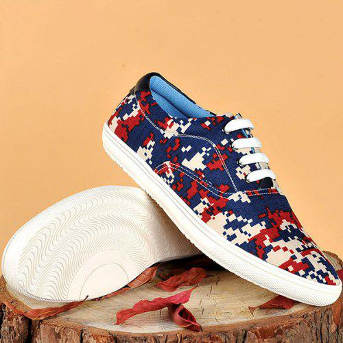 1f9e24432192e Camo Pixel Print Lace-Up Casual Shoes ODM Designer - $36.46 Free  Shipping|GearBest.com