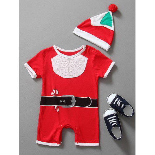 1811f9d09e9a Baby Christmas Clothes Santa Claus Outfits Kids Romper -  8.29 Free ...