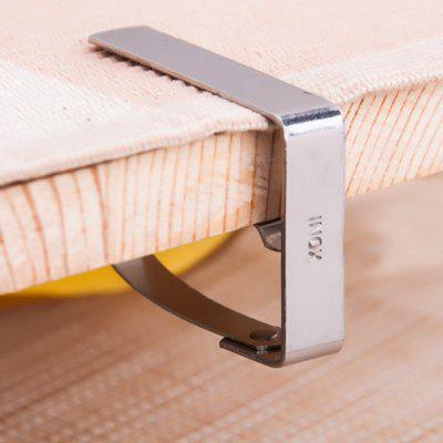 Kitchen Accessories Multifunctional 4PCS Stainless Steel Table Linen Fixer