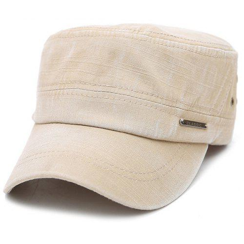 Classic Letter Ring Canvas Military Hat -  3.28 Free Shipping ... 1de0b95f08d