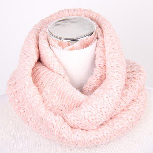 Winter Twisted Turtleneck Knitted Infinity Scarf Gearbest