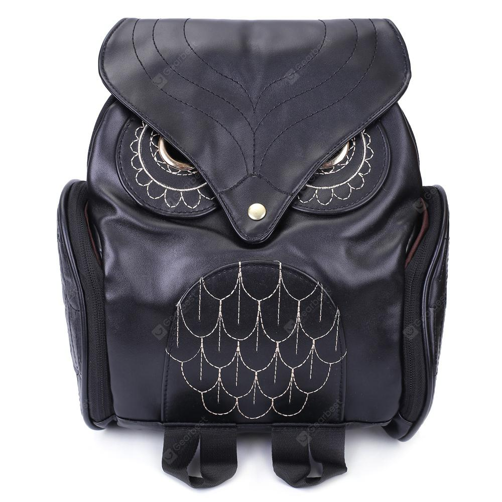 Preppy Owl Pattern And Stitching Design Women S Satchel