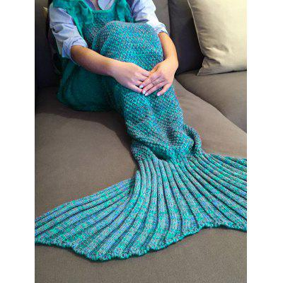 Elegante Cordão Estilo malha Mermaid Design Sono Blanket Bag