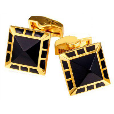 Alloy Geometric Cufflinks