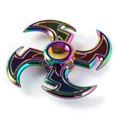 Colorful Axe Shape Fidget Toy Top Gyro