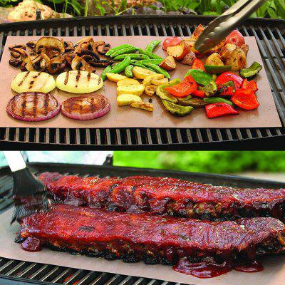 Copper Grill Outdoor Camping Hiking Barbeque Mat