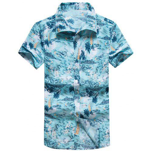9548e2be5 Coconut Palm Hawaiian Shirt | Gearbest
