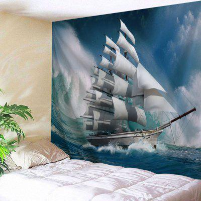 Nautical Scenery Wall Hanging Tapestry