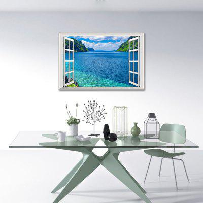 3D Nature Scenery Window Wall Sticker
