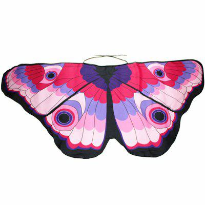 Colorful Butterfly Wings Kids' Scarf