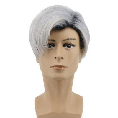Short Side Parting Colormix Straight Descendants 2 Carlos Cosplay Wig