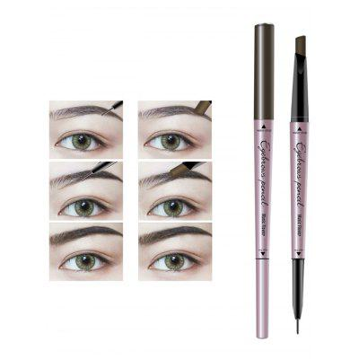 24 Hours Long Lasting Waterproof Double Headed Eyebrown Pencil