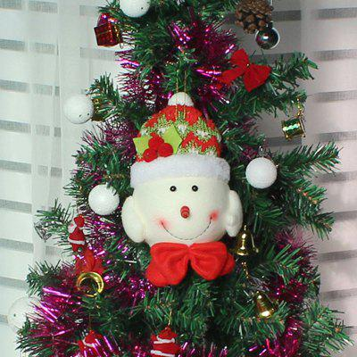 Snowman Pattern Christmas Tree Decorations Doll