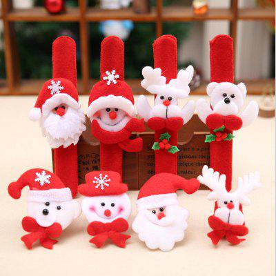 Santa Claus Cartoon Animal Decorated Bracelet