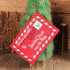 10Pcs Merry Christmas Fabric Envelope Bags - RED