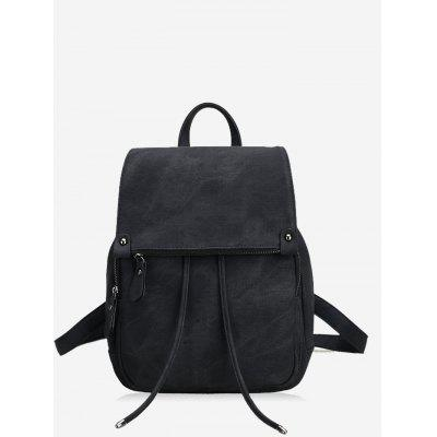 Multi Function PU Leather Backpack With Handle