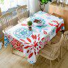 Floral Printed Home Decoration Waterproof Fabric Table Cloth - COLORMIX