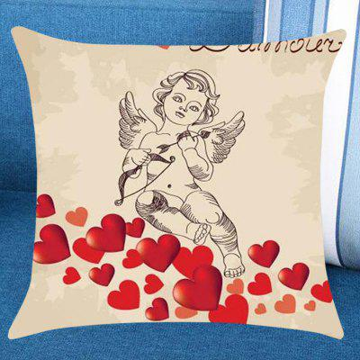 Cupid Hearts Pattern Pillow Case