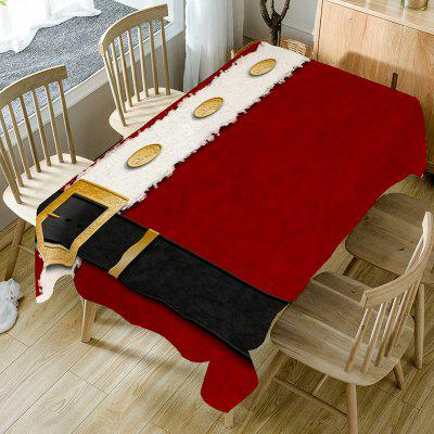 Christmas Belt Pattern Table Cloth