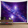 Twelve Constellations Pattern Wall Hanging Tapestry - PURPLE