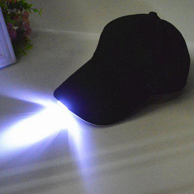 LED Light Baseball Cap for Fishing Camping