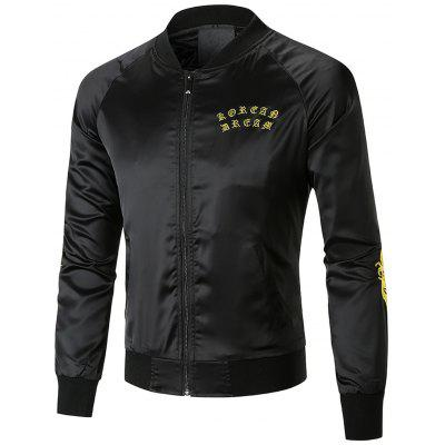 Dragon Embroidered Cool Bomber Jacket
