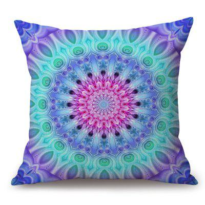 Mandala Pattern Cotton Linen Throw Pillow Case