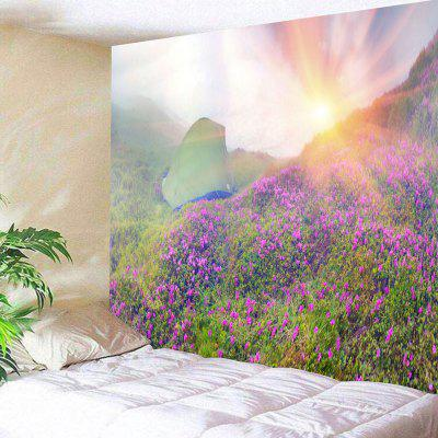 Sunrise Wild Tent Print Wall Hanging Tapestry