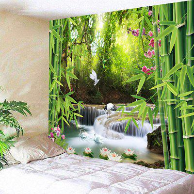 Wonderful Scenery Pattern Tapiz colgante de pared
