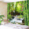 Wonderful Scenery Pattern Wall Hanging Tapestry - GREEN