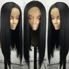 Center Parting Straight Long Synthetic Wig