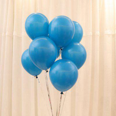 100pcs 10 Inch Latex Balloons Party Festival Decorações