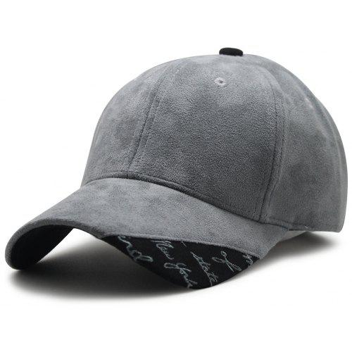 24134b511a568 Concise Design Suede Adjustable Baseball Cap - $7.17 Free Shipping ...