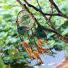 Linen Rope Feather Hanging Handmade Dreamcatcher - COLORMIX
