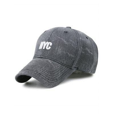 Outdoor NYC Pattern Washed Baseball Hat